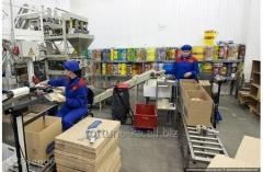 Трудоустройство в Чехии Упаковщик-фасовщик на складах
