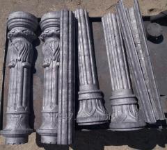 Художественное литье фонарных опор и столбов