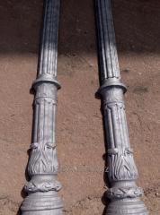 Художественное литье фонарных столбов и опор