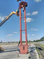 Монтаж, пуск, наладка и изготовление зерно перевальных комплексов на ЖД ветке