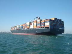 Sea (container) transportation