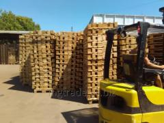 Storage of pallets