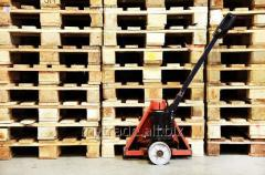 Rent of pallets.