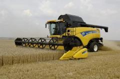 Repair of hydraulic drive harvester Hidromatic