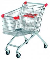 Ремонт тележек покупателя для супермаркетов