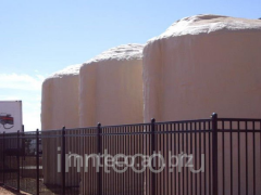 Thermal insulation of capacities polyurethane foam