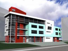 Архитектурная визуализация 3D AutoCAD