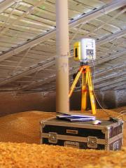 Высокоточное измерение объёмов сыпучих материалов и инвентаризация складов сырья