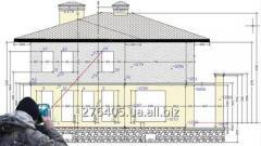 Съёмка фасадов для целей проектирования навесных и светопрозрачных конструкций