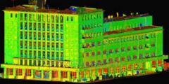 3D лазерное сканирование фасадов