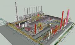 Создание 3D моделей технологических установок и промышленных площадок