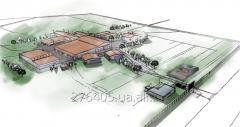 Создание генеральных планов территорий промышленной застройки