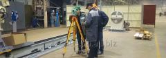 Выверка и юстировка промышленного оборудования
