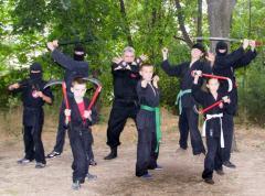 Лицензионные тренировки по японскому боевому искусству ниндзюцу