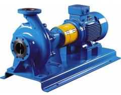Repair of pumps (electric pumps)