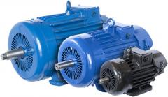 Repair of single-phase electric motors with supply