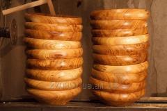 Виготовлення посуду із дерева