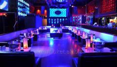 Design of nightclubs
