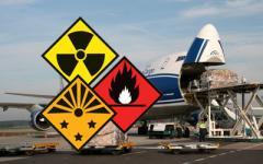 Air transportation of dangerous goods