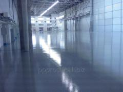 Installation of liquid industrial flooring