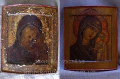 Реставрационные работы, иконы, картины, живопись