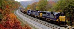 Transportations by railway transpor