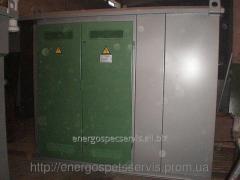 Installation of transformer substations