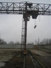 Gantry cranes / installation, dismantle, all types