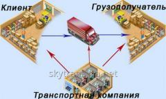 Организация перевозок грузов, логистика