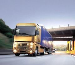 Перевозка автомобильная классифицированные по видам грузов