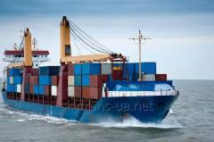Морские грузоперевозки из США