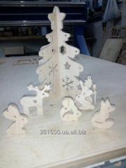 Изготовление новогодних игрушек и товаров