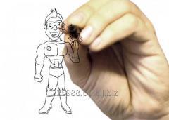 Рисованное видео, скрабл VideoScribe