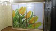 УФ-печать на стекле, акриле (оргстекле) и зеркале