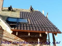 Кровельные работы любой сложности, кровля крыш, ремонт крыши в Днепре