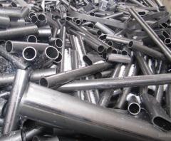 Stainless steel, nickel bearing.