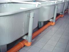 Vodospuskny systems