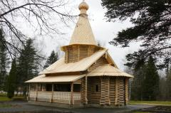 Construction of wooden churches and temples