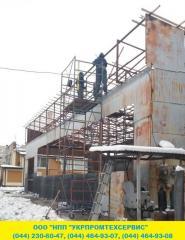 Reconstruction and repair of warehouses, hangars,