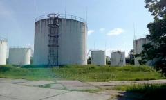 Услуга хранения нефтепродуктов
