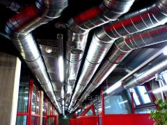 Installation and adjustment of ventilation systems