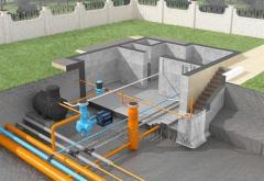 Монтаж наружных сетей водопровода, канализации
