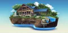 Монтаж водоподъемного оборудования скважин