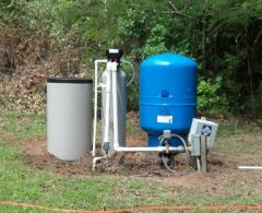Installation water supply systems