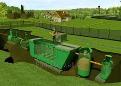 Наладка систем очистки хозяйственно бытовых стоков