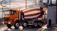Доставка бетона и бетонного раствора