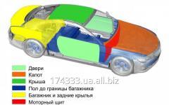 Шумо-, тепло-, вибро-изоляция автомобиля