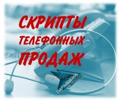 Услуга разработки и внедрения продающих скриптов