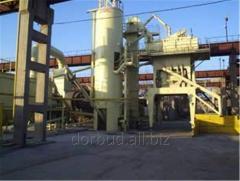 Асфальтоукладочные работы, завод производительностью от 160 до 180 тон готовой продукции в час