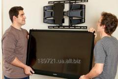 Повесим ваш телевизор LED на стену.Донецк . Распаковка,первый запуск, монтаж телевизора на стену. монтаж,навес и Установка телевизоров, плазменных  LCD и LED  панелей,  с креплением на стену.